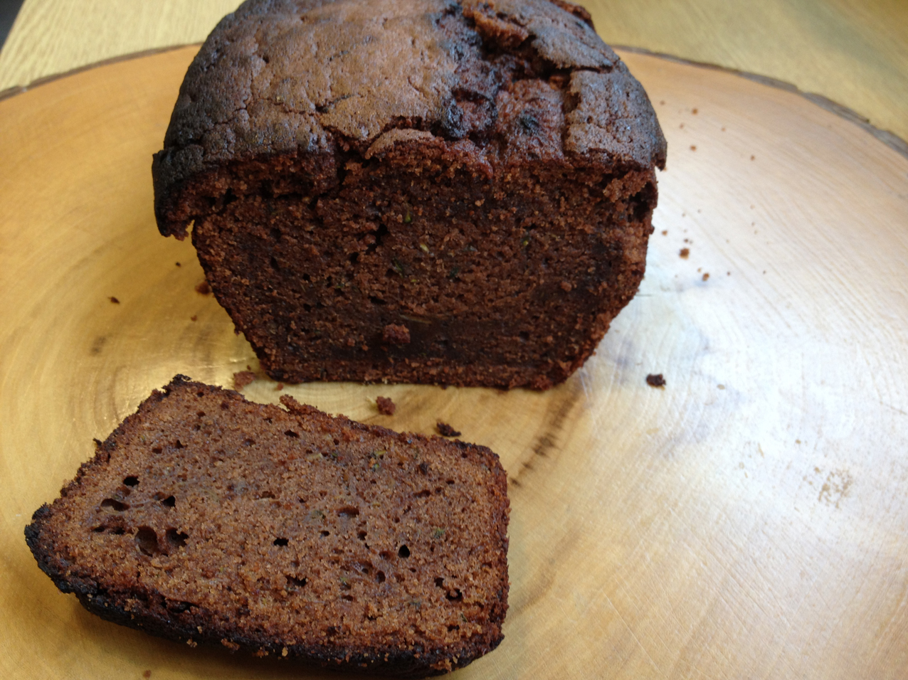 Cake courgettes, chocolat