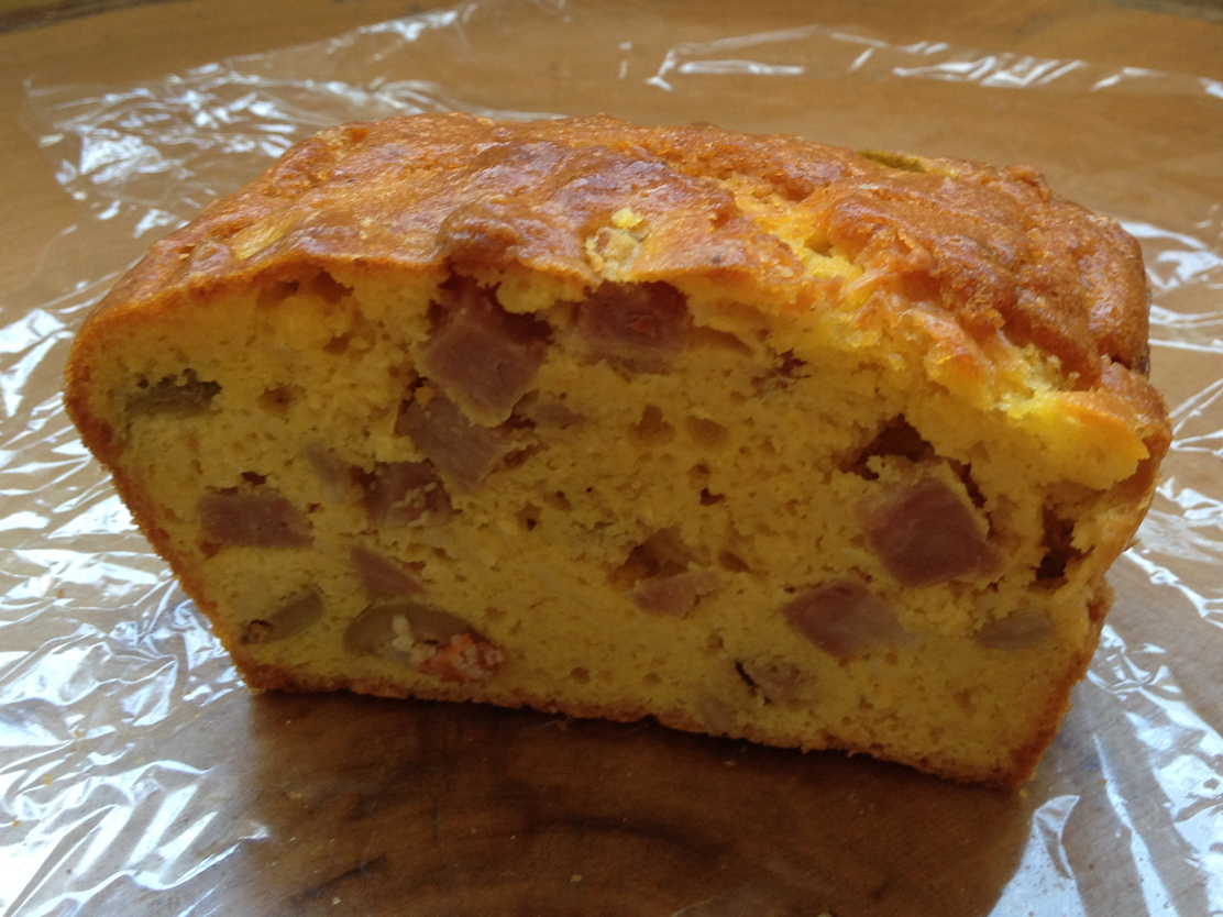 Cake Olive Chevre Thermomix